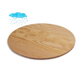 Round Waterproof Pine Plywood