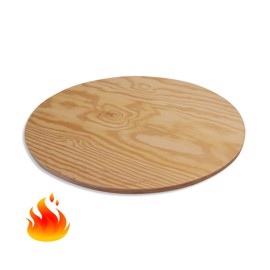 Round Fire-Resistant Pine Plywood