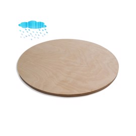 Round Waterproof Birch Plywood