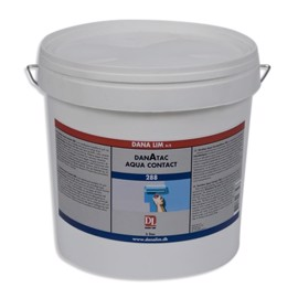 Laminate and lino adhesive/glue -  Aqua Contact - 288 1ltr.