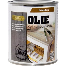 Grey Oil for kitchen countertops 0.75 l