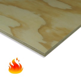 Fire-Resistant Pine Plywood