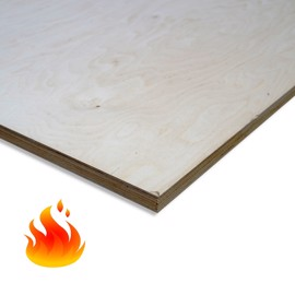 Fire-Resistant Birch Plywood Birch