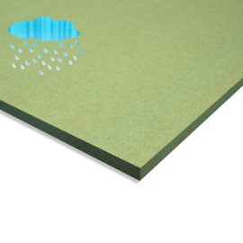 Waterproof Green MDF