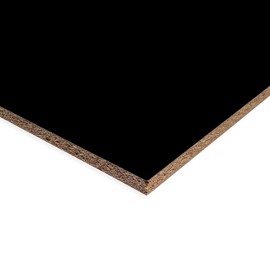 Melamine Chipboard in Black Pearl